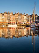 Honfleur old port, Calvados, Normandy, France, Europe