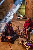 Sultanate of Oman, Ad-Dakhiliyah Region, village of Al Hamra, Bait Al Safah museum