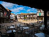 Plaza Mayor de La Alberca. Sierra de Francia. Salamanca. Castilla León. España.