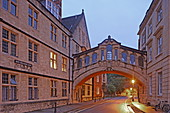 Hertford Bridge des Hertford College, Bridge of Sighs, Seufzerbrücke genannt, Oxford, Oxfordshire, England