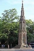 Martyrs Memorial, Kreuzung von St Gilles, Magdalen und Beaumont Street, Oxford, Oxfordshire, England