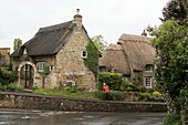 The village of Ebrington at Chipping Campden, Cotswolds, Gloucestershire, England