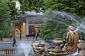 Neptune Fountain on the Promenade, Cheltenham