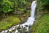 Giessbachfall, Brienz, Bernese Oberland, UNESCO World Natural Heritage Swiss Alps Jungfrau-Aletsch, Bernese Alps, Bern, Switzerland
