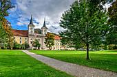 St. Quirin Monastery Church, Tegernsee Monastery, Tegernsee, Upper Bavaria, Bavaria, Germany