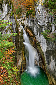 Waterfall, Tatzelwurm, Sudelfeld, Bavarian Alps, Upper Bavaria, Bavaria, Germany