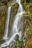 Koenigshütte waterfall, Bodetal, Harz, Saxony-Anhalt, Germany