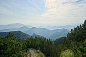 View from Wasserklotz, (Reichraminger Hintergebirge, Upper Austria, Austria) towards the Gesäuse Mountains.