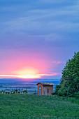 Schloß Frankenberg, Reusch, Weinparadies, Neustadt an der Aisch, Mittelfranken, Franken, Bayern, Deutschland, Europa
