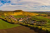 Weinberge bei Iphofen, Kitzingen, Unterfranken, Franken, Bayern, Deutschland, Europa