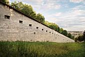 Wilhelmsburg, Ulm Federal Fortress, Danube, Swabian Alb, Baden-Württemberg, Germany
