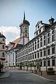 Study Church of the Assumption and Academy for Teacher Training, Dillingen an der Donau, Bavaria, Germany