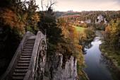 Devil's Bridge near Inzigkofen, Upper Danube Valley Nature Park, Sigmaringen district, Danube, Germany