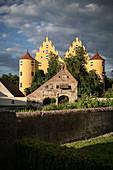 Erbach Castle, Alb-Donau district, Danube, Baden-Württemberg, Germany