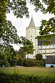 Lauingen Castle, Dillingen District, Bavaria, Danube, Germany
