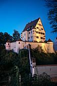 Schloss Leipheim, Landkreis Günzburg, Bayern, Donau, Deutschland