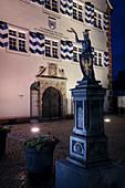 Rathaus in Möhringen bei Tuttlingen, Baden-Württemberg, Donau, Deutschland
