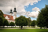 Monastery church in the monastery Obermarchtal, municipality near Ehingen, Alb-Donau district, Baden-Württemberg, Danube, Germany