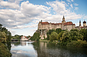 Hohenzollern Castle, Sigmaringen, Baden-Wuerttemberg, Danube, Germany