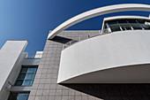modern town house by Richard Meier, Ulm, Danube, Swabian Alb, Baden-Württemberg, Germany