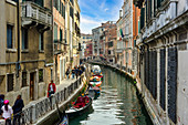 A stroll through Venice in autumn, Veneto, Italy, Europe