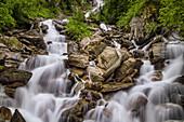 Wasserfall im Salzburger Land, Österreich, Europa