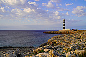 Lighthouse at Cap d'Artrutx, Ciutadella. Menorca, Balearic Islands, Spain, Europe