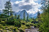 Unterwegs zum Seebensee, Ehrwald, Tirol, Österreich, Europa