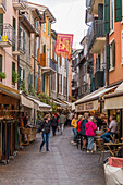 In the alleys of Garda, Lake Garda, Verona Province, Italy