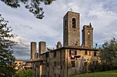 Gimignano, Province of Siena, Tuscany, Italy