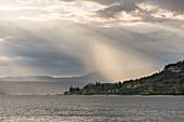 Cloudy sky near Garda, Lake Garda, Province of Verona, Italy