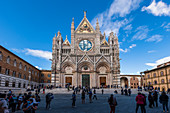 Dom von Siena, Siena, Provinz Siena, Toskana, Italien