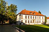 Kavaliershaus, Eutin Castle outbuilding, Holstein Switzerland Nature Park, Ostholstein, Schleswig-Holstein, Germany