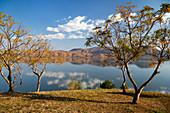 Itasy Lake, Lac Itasy, highlands west of Antananarivo, Madagascar, Africa