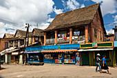 Street scene, Ambohimahasoa, Matsiatra Region, Central Highlands, Madagascar, Africa