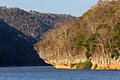 Manambolo River, Tsingy-de-Bemaraha National Park, Mahajanga, Madagascar, Africa