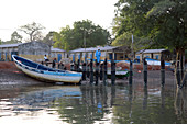 Gambia; Western Region; at Bintang Bolong; Bintang Harbor
