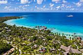 Aerial view of Hotel Kia Ora Resort