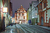 Herrngasse in Coburg, Oberfranken, Bayern, Deutschland