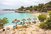 Cala Comtesa bay in Mallorca, Spain