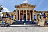 Theater Massimo, Palermo, Sicily, Italy