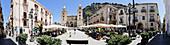 Domplatz, Cefalu, Sizilien, Italien