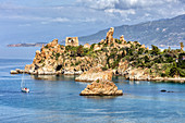 Caldura Tower, near Cefalu, Sicily, Italy