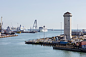 Hafen von Livorno, Toskana, Italien
