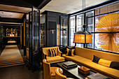 Lounge and reception area at the Six Senses Duxton Boutique Hotel in Chinatown, Singapore, Singapore, Asia