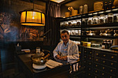 Traditional Chinese Medicine Expert at Six Senses Duxton Boutique Hotel in Chinatown, Singapore, Singapore, Asia
