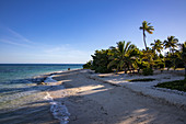 Beach at Malamala Island Beach Club, Mala Mala Island, Mamanuca Group, Fiji Islands, South Pacific