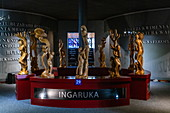 Sculptures in the Kigali Genocide Memorial Center, Kigali, Kigali Province, Rwanda, Africa