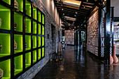 Lobby in the luxury resort One