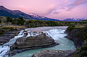 Stunning Gullfoss Falls waterfall on the Golden circle route, Iceland, Polar Regions